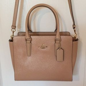 NWT Authentic COACH Satchel (F31357) in Beechwood